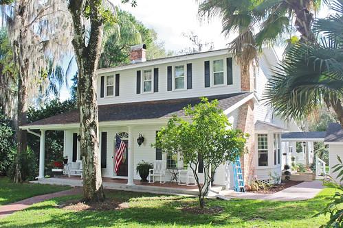 house architecture historical residence florida brooksville