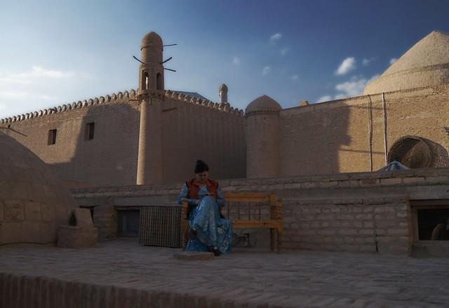 Watching in Khiva
