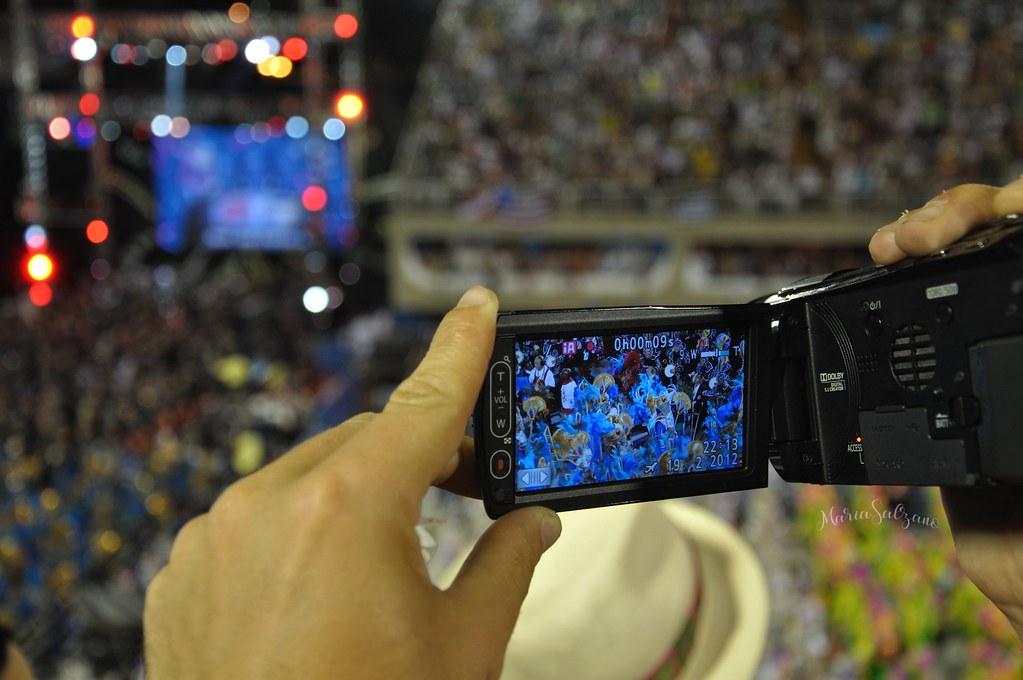 Obiettivo carnival Rio de Janeiro