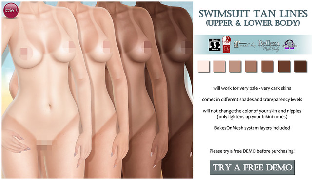 Swimsuit Tan Lines (Uber)
