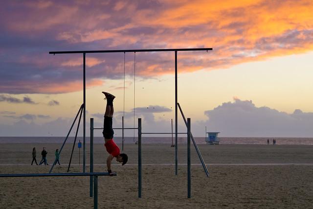 After a Storm, Santa Monica Beach