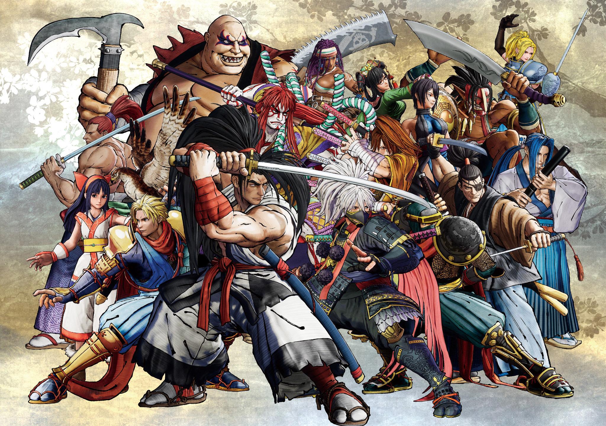 Samurai Shodown S Season 1 Dlc Roster Revealed As The Fighter