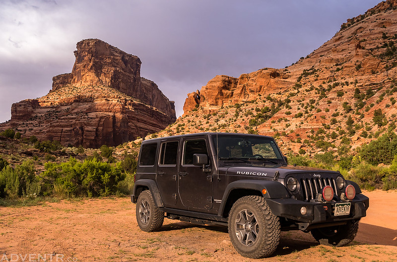 Calf Canyon Jeep