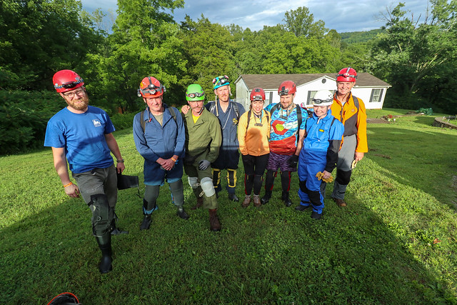 Cavers, West Water Supply Trip, NSS 2019 Convention