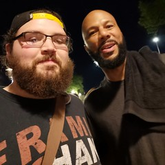Common and I!