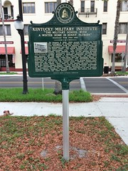 Kentucky Military Institute Marker (Rear)