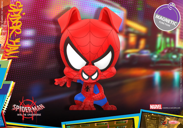 六位蜘蛛人齊聚一堂!! Hot Toys – COSB635 - COSB641 –《蜘蛛人:新宇宙》Spider-Man: Into the Spider-Verse Cosbaby Bobble-Head