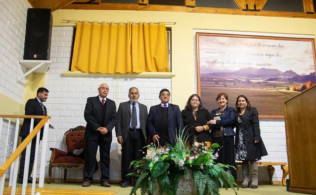 Voluntarios Iglesia Villa Alemana visitan Iglesia Los Vilos