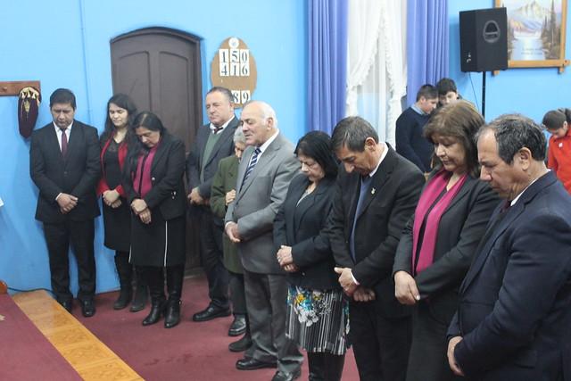 Primera visita de Superintendencia año 2019 en Iglesia de Monte Águila