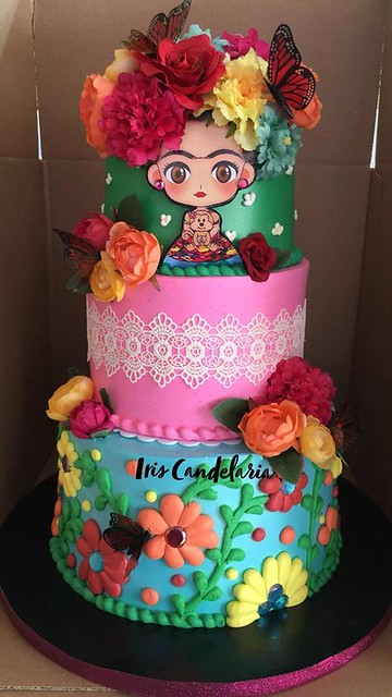 Cake by Candelaria's Bakery