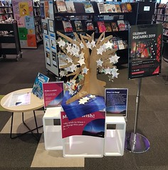 Matariki display, Ōrauwhata: Bishopdale Library and Community Centre