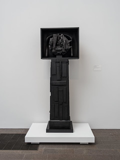 Louise Nevelson, Black Moon (1959)