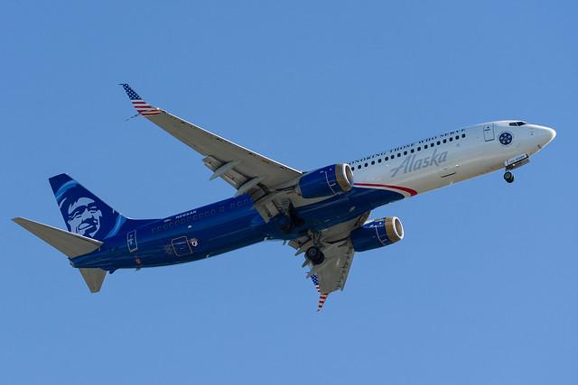 Alaska Boeing 737