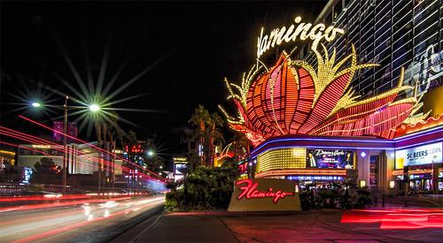 Flamingo on the Vegas Strip