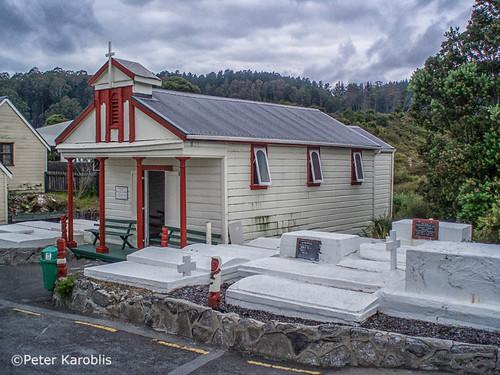New Zealand - Rotorua cemetery