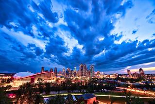Angy Cloud at Calgary Downtown