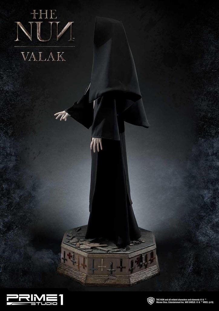 極具存在感!113公分的鬼修女!! Prime 1 Studio《鬼修女》瓦拉克 死霊館のシスター ヴァラク HDMMNUN-01 1/2 比例全身雕像作品