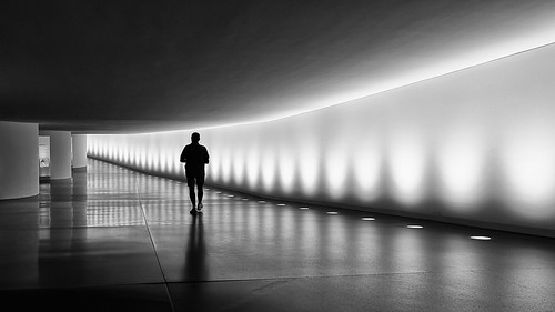 berlin deutschland people person human geometry light shadow silhouette tunnel walking street streetphoto black white monochrome bnw