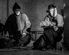 Two Shagai Players (Bulgam Sum, Mongolia. Gustavo Thomas © 2019)