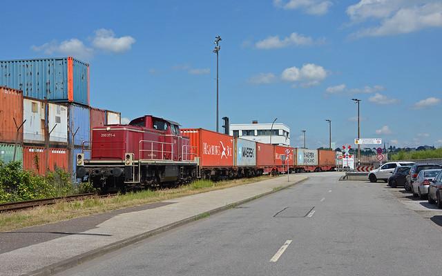 DB Cargo 290 371-4 - Hamburg-Waltershof