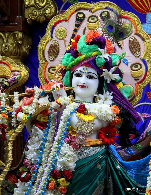 ISKCON Juhu Sringar Deity Darshan on 25th June 2019
