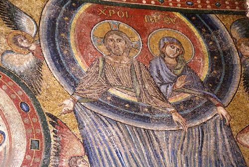 Rom, Santa Maria Maggiore, Benediktionsloggia (benediction loggia)