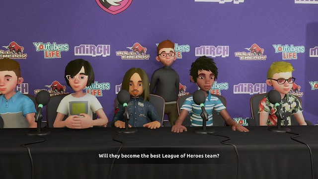 Esports Life Tycoon - Press Conference