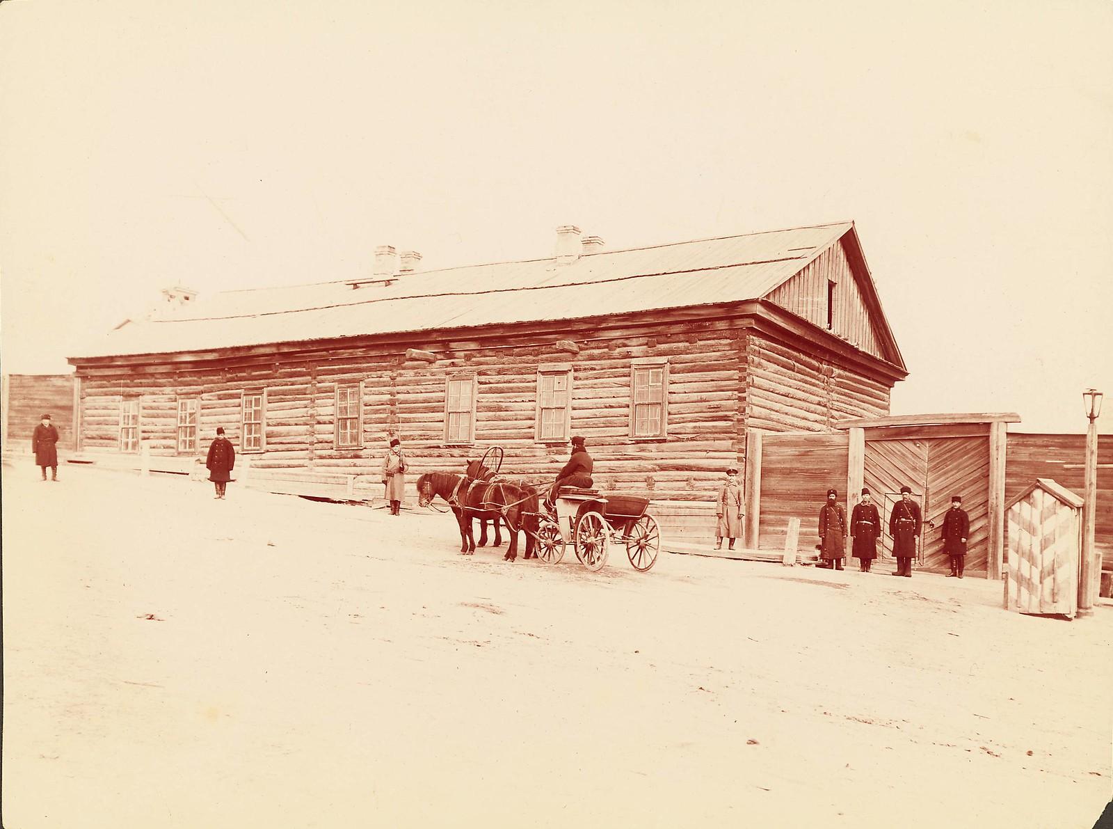 Хабаровск. Арестантские бараки