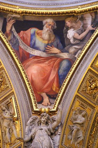 Rom, Santa Maria Maggiore, Cappella Palatina, Prophet Jesaja (Prophet Isaiah)