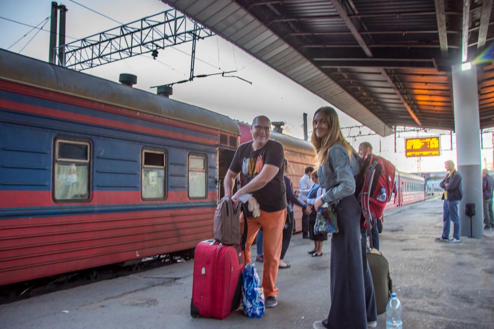 На поезде из Тбилиси в Ереван
