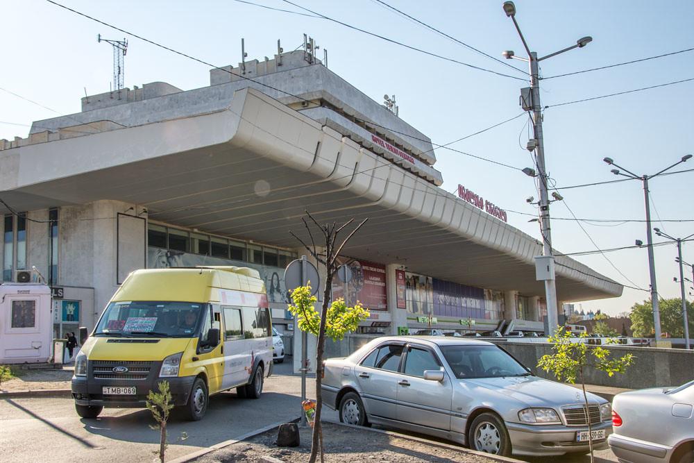 Вокзал в Тбилиси