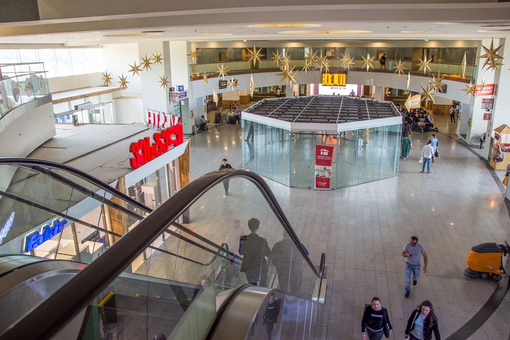Железнодородный вокзал в Тбилиси