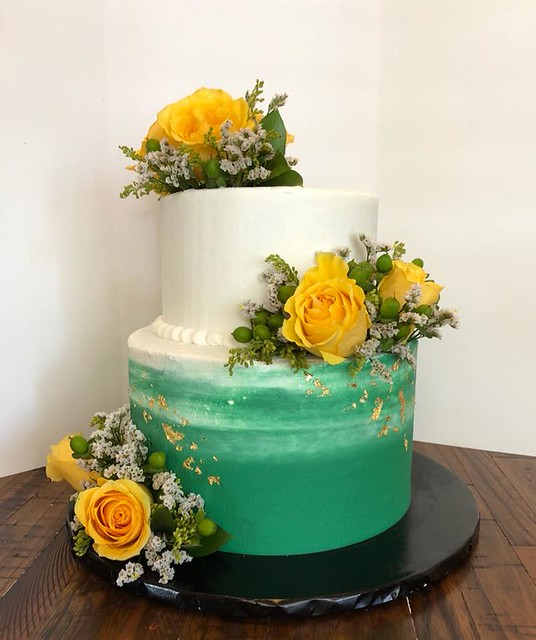 Cake by Wild Flour Bakery