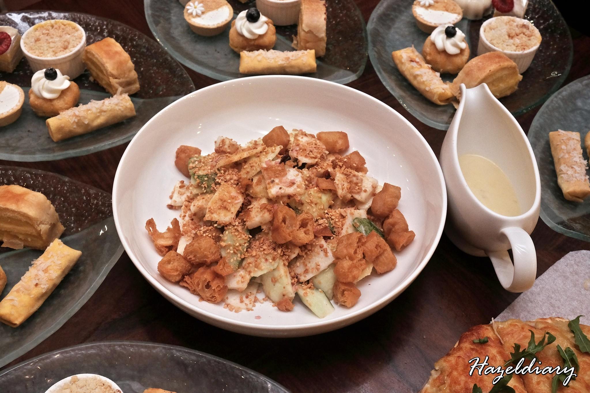 Marriott Cafe -Durian High Tea Buffet-Durian Rojak