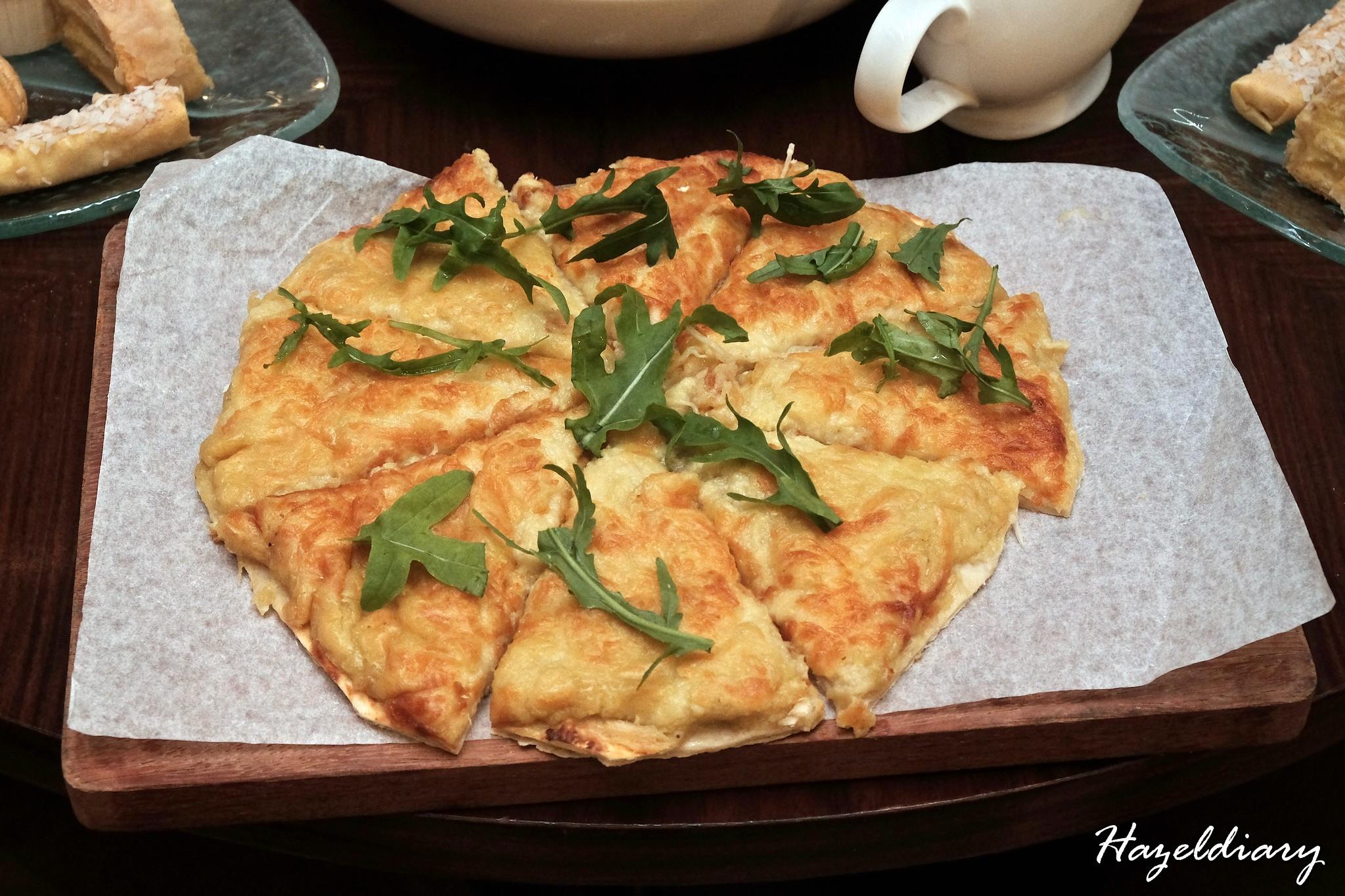 Marriott Cafe -Durian High Tea Buffet-Durian Pizza