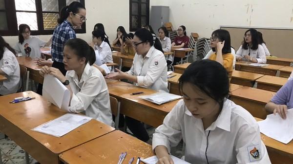 99,6% thí sinh dự thi môn Ngữ văn - VnEconomy
