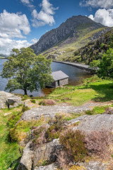 Lake Ogwen and Tryfan Mountain