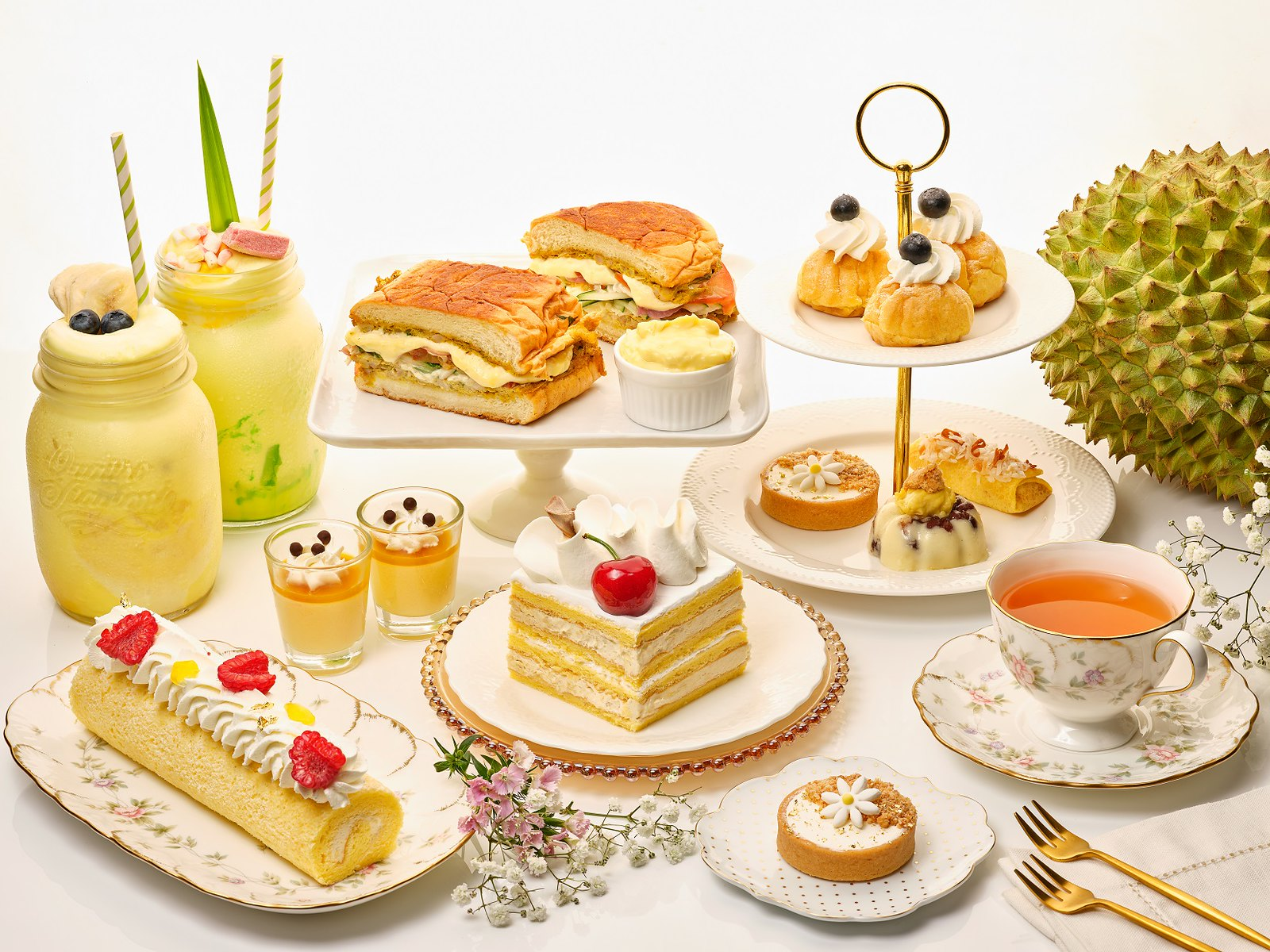 Delectable Durian High Tea Buffet at Marriott Cafe
