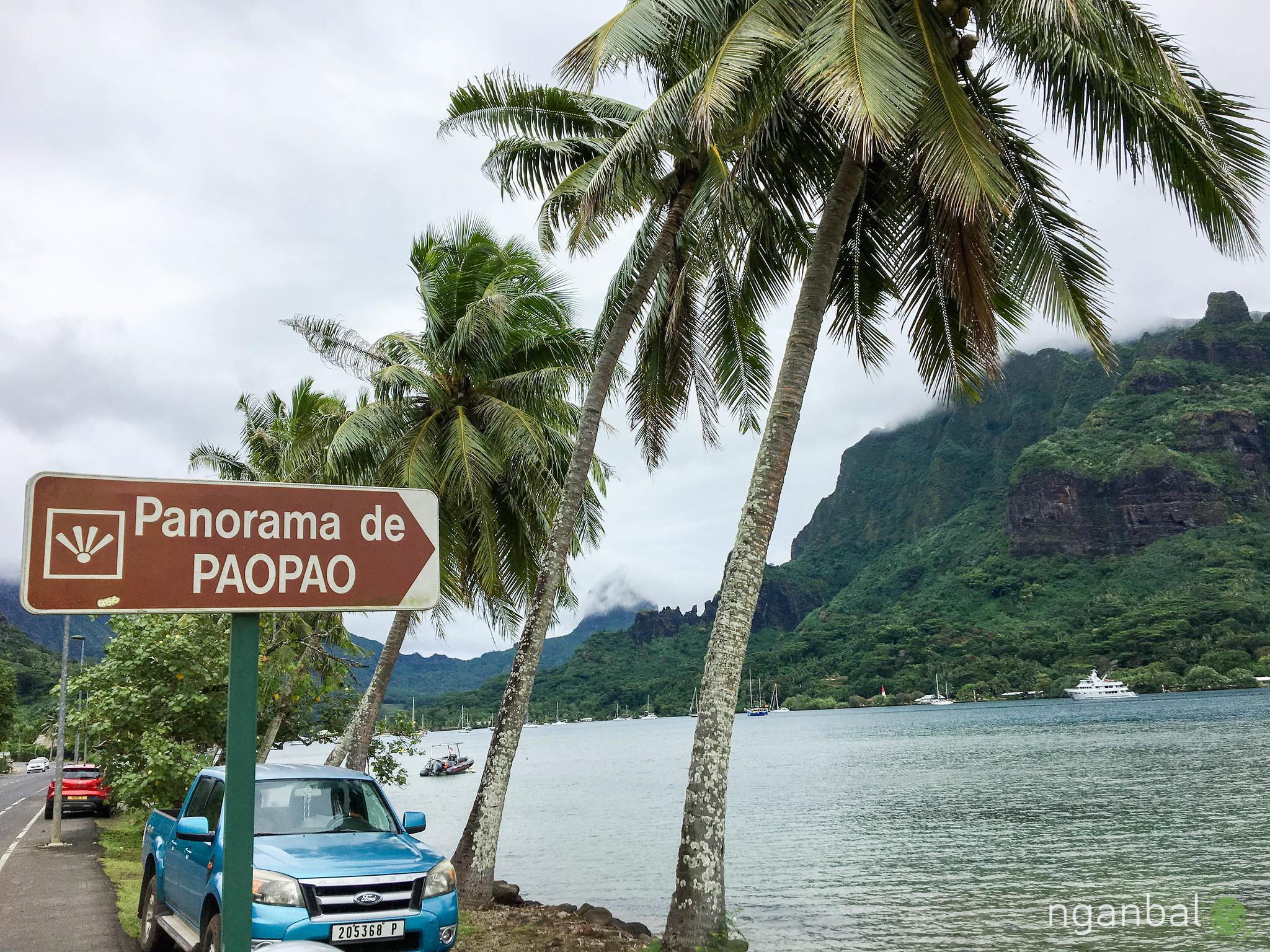 Du lịch Tahiti: Đảo Moorea