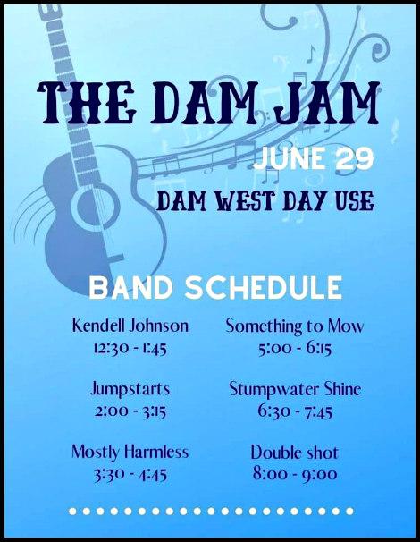 Dam Jam 6-29-19