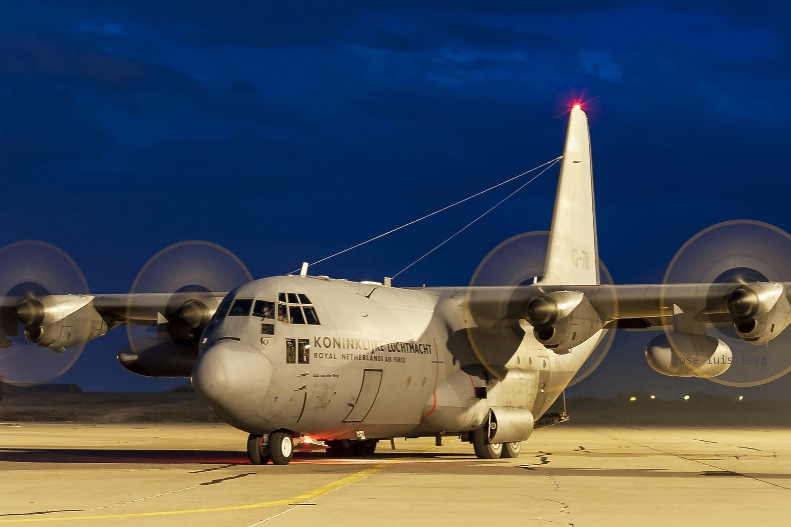 Hércules de la fuerza aérea de los Paises bajos