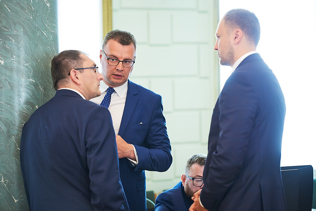 25.06.2019. Ministru prezidents Krišjānis Kariņš vada Ministru kabineta sēdi