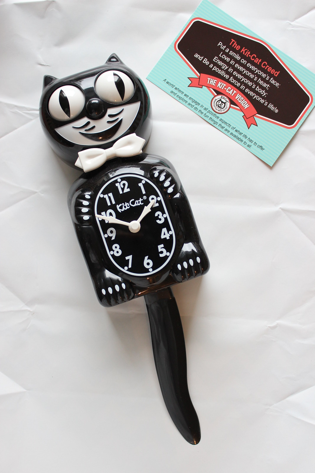 Kit-Cat Clock / etdrysskanel.com