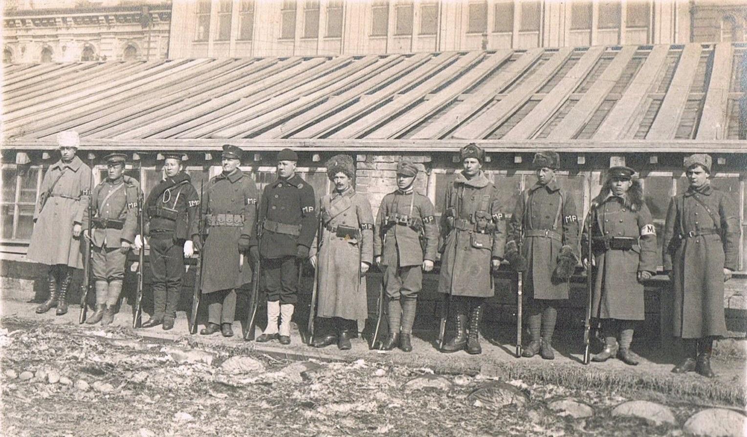 1918. Международная военная полиция (International Military Police)2