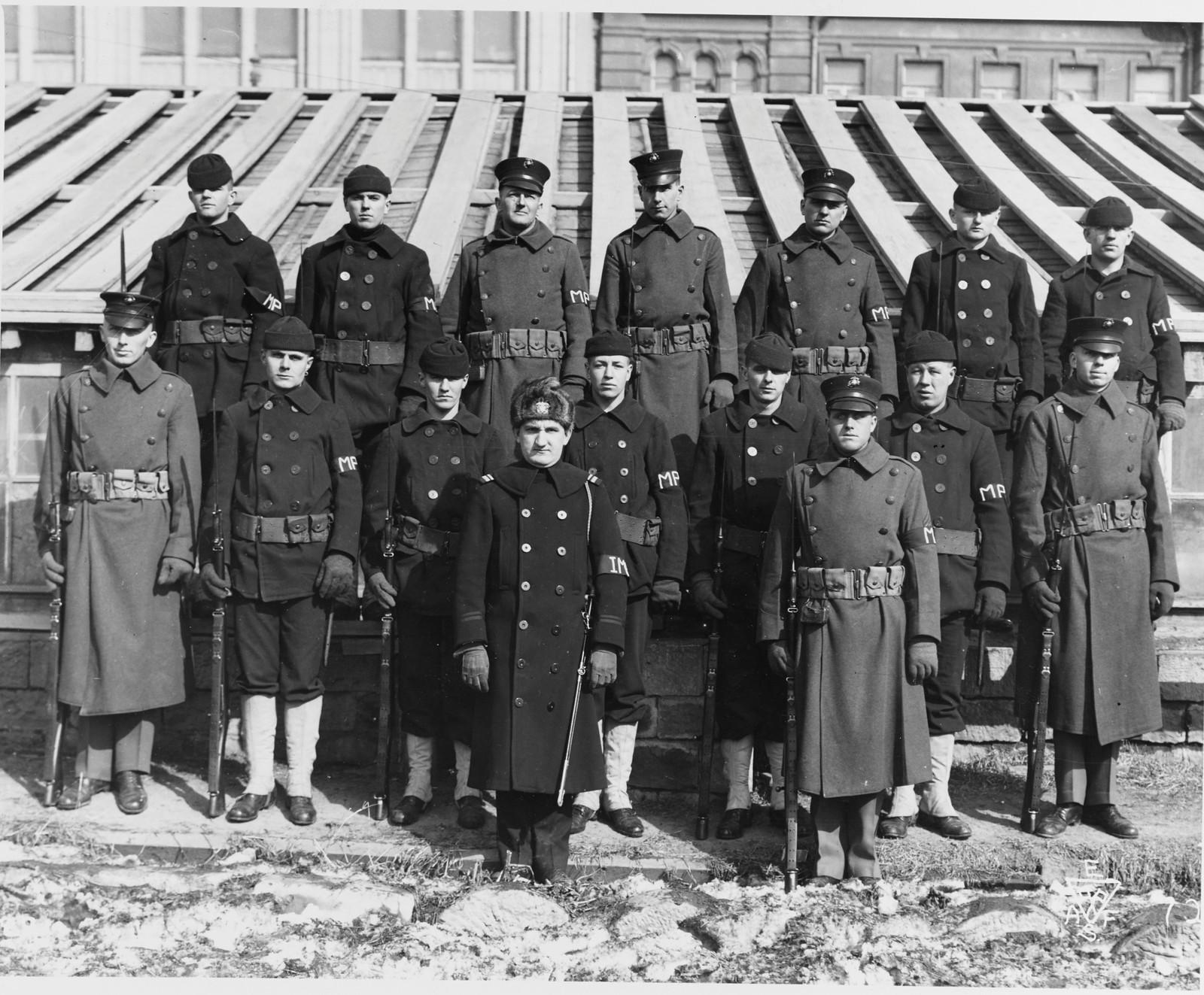 1918. ВМС США и Морская полиция США во Владивостоке