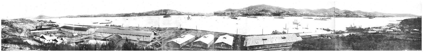 1918.  Панорама города