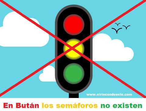 ¿Sabías que en Bután no hay semáforos?
