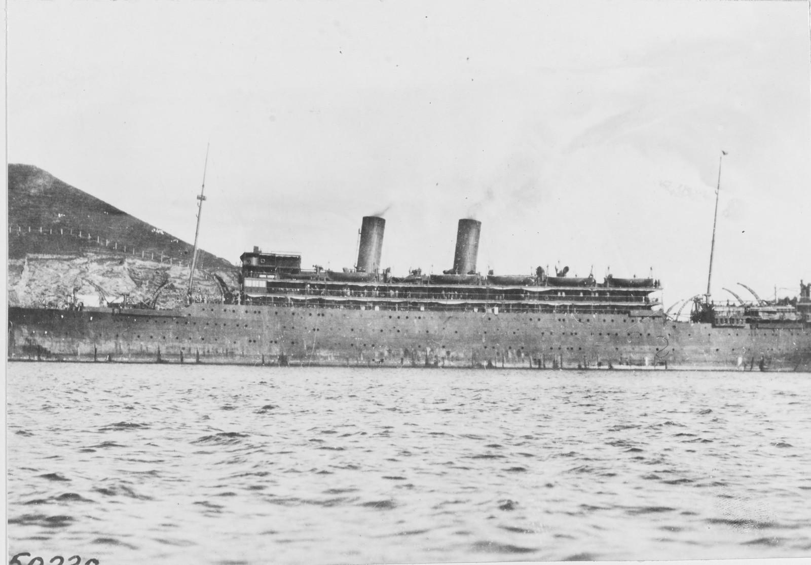 1918. Французский транспорт во Владивостоке