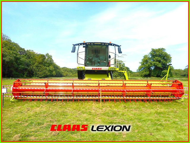 Wide Range Combine Harvester ..