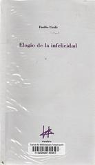 Emilio LLedó, Elogio de la infelicidad